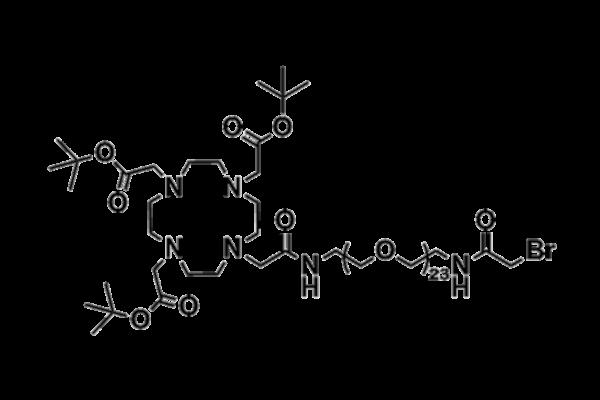 DOTA tris(TBE)-amido-dPEG®₂₃-bromoacetamide